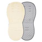 Reversible Fur Seat Liner - Cream